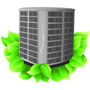 air-conditioner-on-leaves