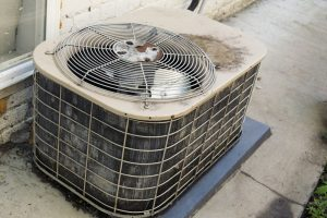 an-old-air-conditioner